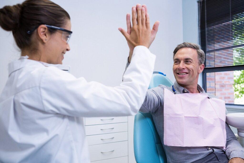 Superar primer día en el odontólogo
